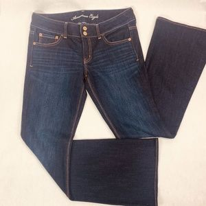 American Eagle Womens Jeans 10 R Blue Artist